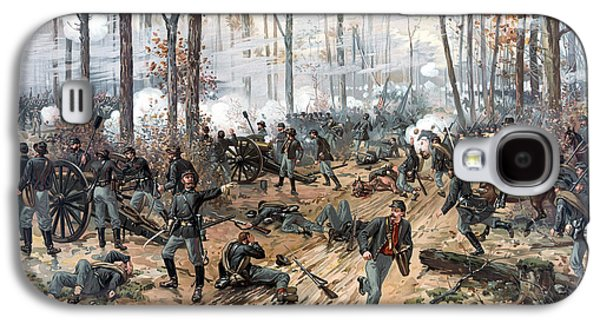 American History Galaxy S4 Cases - The Battle of Shiloh Galaxy S4 Case by War Is Hell Store
