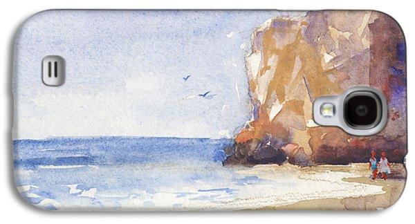 The Beach Galaxy S4 Case by Kristina Vardazaryan