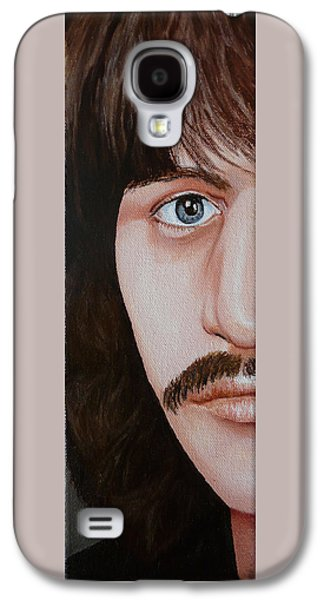 Beatles Galaxy S4 Cases - The Bealtes Ringo Starr Galaxy S4 Case by Vic Ritchey