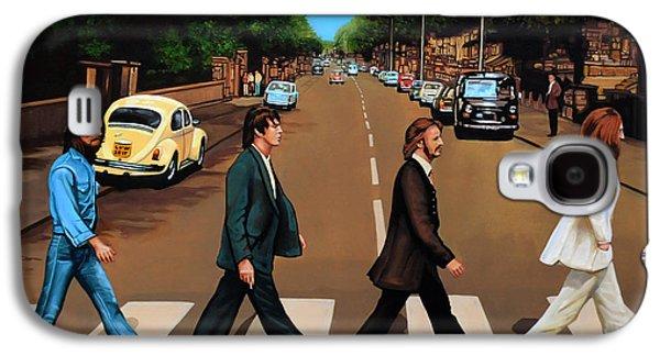 The Beatles Abbey Road Galaxy S4 Case by Paul Meijering