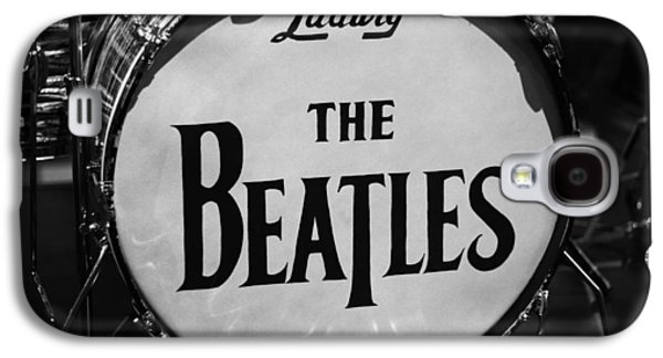 Beatles Galaxy S4 Cases - The Beatles Drum Galaxy S4 Case by Dan Sproul