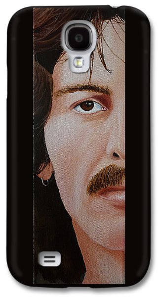 Beatles Galaxy S4 Cases - The Beatles George Harrison Galaxy S4 Case by Vic Ritchey