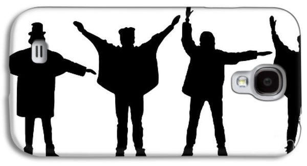 Beatles Galaxy S4 Cases - The Beatles No.07 Galaxy S4 Case by Caio Caldas