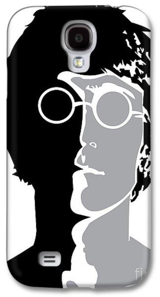 Beatles Digital Art Galaxy S4 Cases - The Beatles No.08 Galaxy S4 Case by Caio Caldas