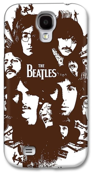 Beatles Galaxy S4 Cases - The Beatles No.15 Galaxy S4 Case by Caio Caldas