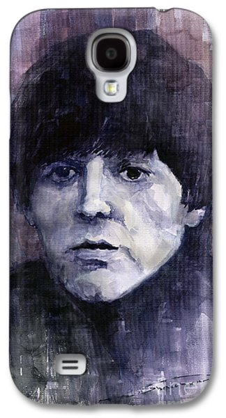 The Beatles Galaxy S4 Cases - The Beatles Paul McCartney Galaxy S4 Case by Yuriy  Shevchuk