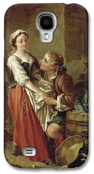 The Beautiful Kitchen Maid Galaxy S4 Case by Francois Boucher