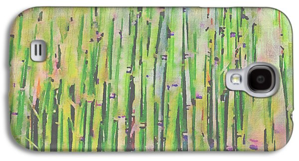 Bamboo Fence Galaxy S4 Cases - The Beauty of a Bamboo Fence Galaxy S4 Case by Angela A Stanton