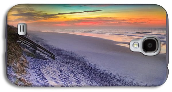 Topsail Galaxy S4 Cases - THE BEAUTY of TOPSAIL ISLAND Galaxy S4 Case by Karen Wiles