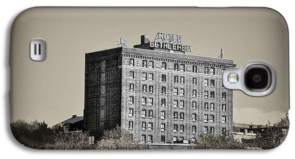 Bethlehem Galaxy S4 Cases - The Bethlehem Hotel Galaxy S4 Case by Bill Cannon