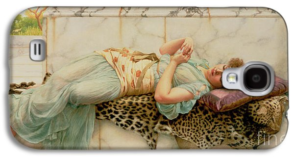 Print On Canvas Galaxy S4 Cases - The Betrothed Galaxy S4 Case by John William Godward