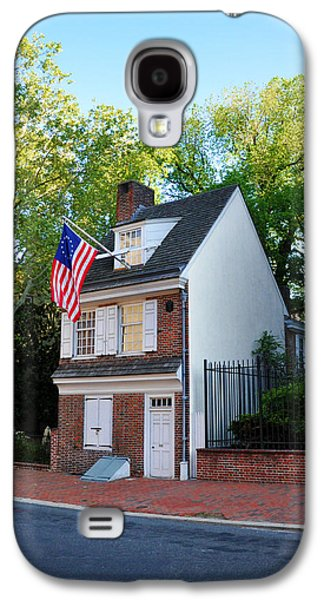 Betsy Galaxy S4 Cases - The Betsy Ross House Philadelphia Galaxy S4 Case by Bill Cannon