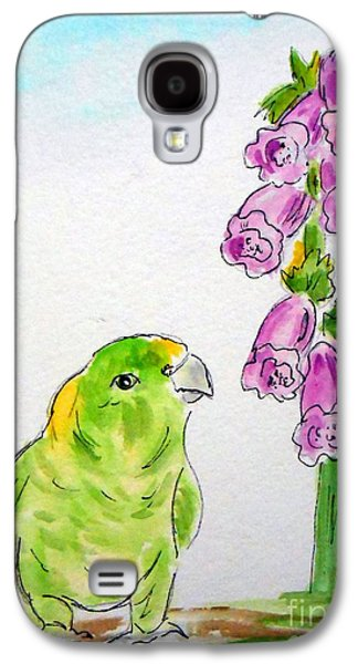 The Bird And The Bee Galaxy S4 Case by Rita Drolet