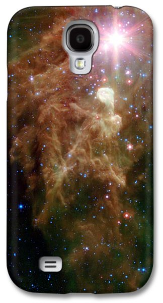 The Birth Of A Star In Outer Space Galaxy S4 Case by American School