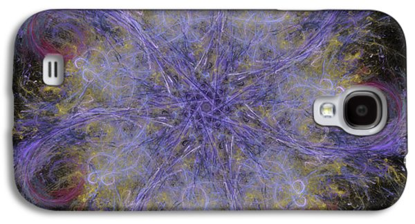 Nature Abstracts Galaxy S4 Cases - The Blizzard Galaxy S4 Case by Lena Kouneva