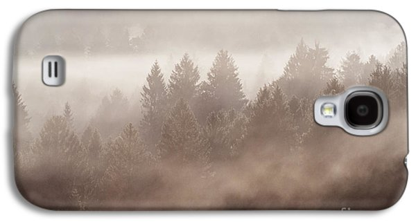 Trees Photographs Galaxy S4 Cases - The blow of the forest Galaxy S4 Case by Yuri Santin