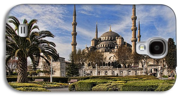 Istanbul Galaxy S4 Cases - The Blue Mosque in Istanbul Turkey Galaxy S4 Case by David Smith