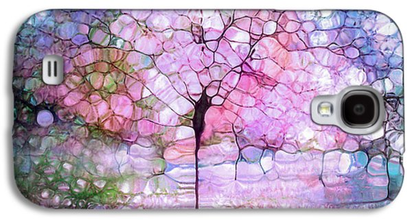 Dreamscape Galaxy S4 Cases - The Blushing Tree in Bloom Galaxy S4 Case by Tara Turner