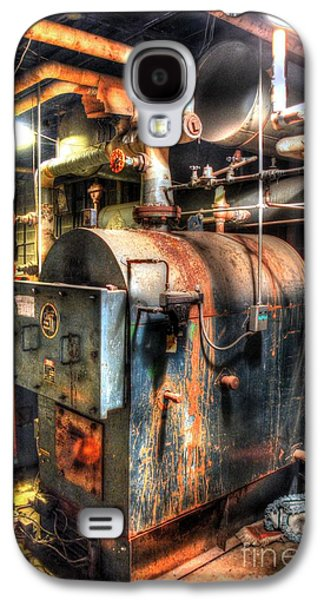 Machinery Galaxy S4 Cases - The Boiler Room Galaxy S4 Case by Michael Garyet