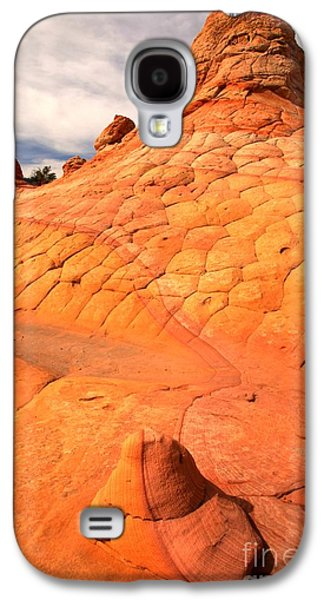 Surreal Landscape Galaxy S4 Cases - The Boot And The Butte Galaxy S4 Case by Adam Jewell
