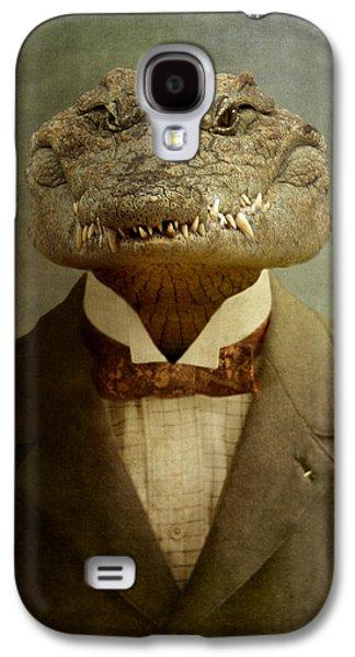 The Boss Galaxy S4 Case by Martine Roch