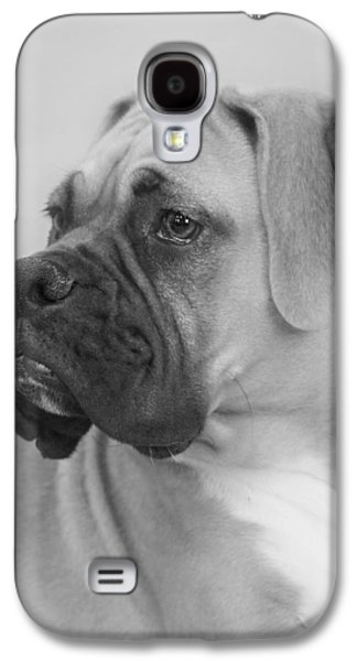 Boxer Galaxy S4 Cases - The Boxer Dog - the Gentleman amongst dogs Galaxy S4 Case by Christine Till