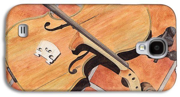 The Broken Violin Galaxy S4 Case by Ken Powers