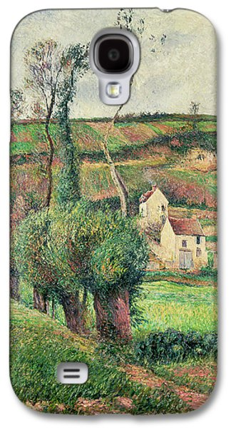 The Cabbage Slopes Galaxy S4 Case by Camille Pissarro