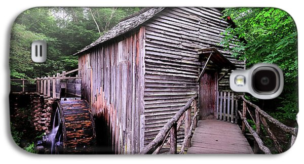 Tennessee Historic Site Galaxy S4 Cases - The Cable Grist Mill Galaxy S4 Case by Thomas Schoeller