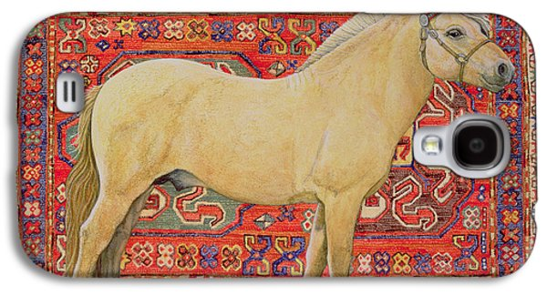 Persian Carpet Galaxy S4 Cases - The Carpet Horse Galaxy S4 Case by Ditz