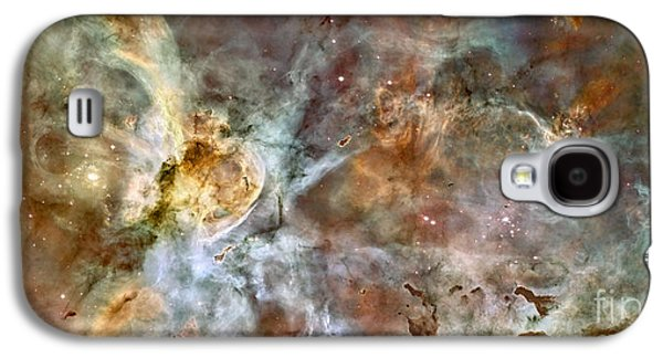 Astronomy Galaxy S4 Cases - The Central Region Of The Carina Nebula Galaxy S4 Case by Stocktrek Images