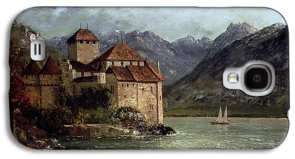 The Chateau De Chillon Galaxy S4 Case by Gustave Courbet