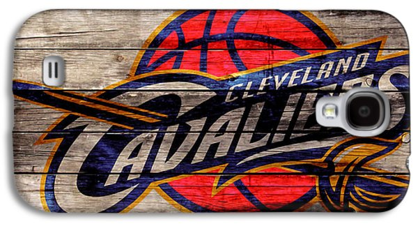 The Cleveland Cavaliers 2w Galaxy S4 Case by Brian Reaves