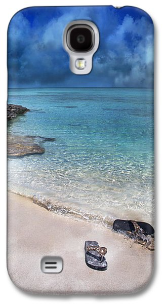 Timing Galaxy S4 Cases - The Cloud Parade Galaxy S4 Case by Betsy C  Knapp