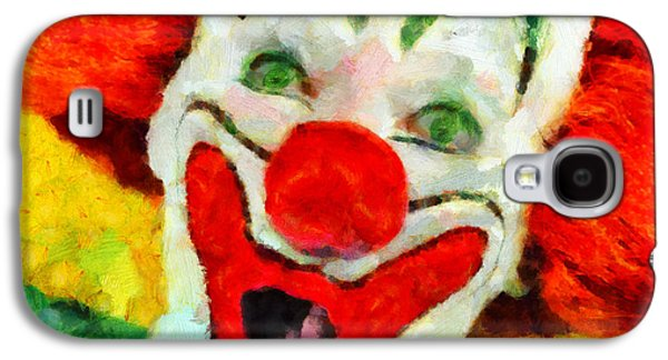 The Clown Galaxy S4 Case by George Rossidis