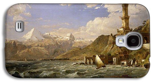 The Coast Of Genoa Galaxy S4 Case by Jasper Francis Cropsey