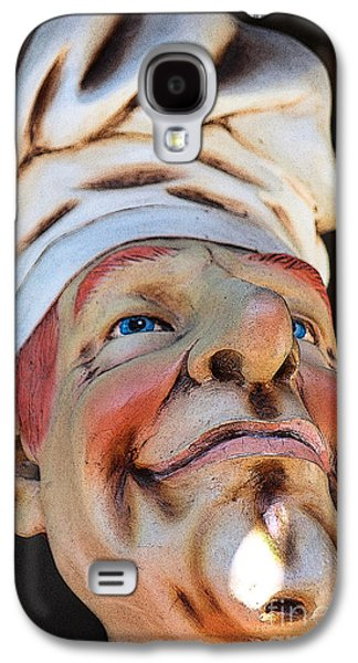 Statue Portrait Galaxy S4 Cases - The Cook Galaxy S4 Case by Sophie Vigneault
