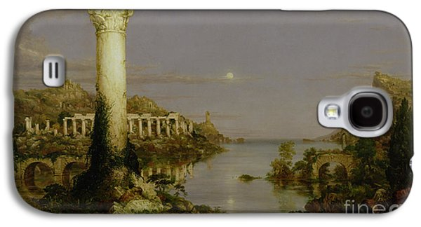 Columns Galaxy S4 Cases - The Course of Empire - Desolation Galaxy S4 Case by Thomas Cole