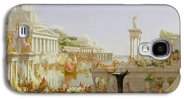 Columns Galaxy S4 Cases - The Course of Empire - The Consummation of the Empire Galaxy S4 Case by Thomas Cole