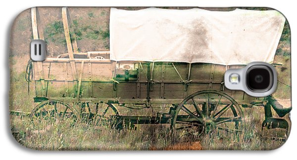 The Covered Wagon  Galaxy S4 Case by Steven  Digman