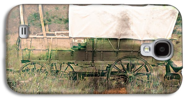 Conestoga Galaxy S4 Cases - The Covered Wagon  Galaxy S4 Case by Steven  Digman