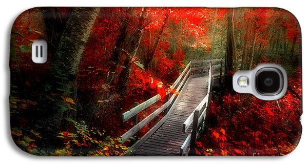 Tara Turner Galaxy S4 Cases - The Crimson Forest Galaxy S4 Case by Tara Turner