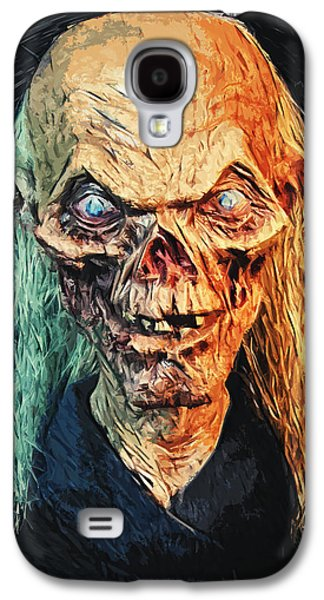 Haunted House Digital Galaxy S4 Cases - The Crypt Keeper Galaxy S4 Case by Taylan Soyturk