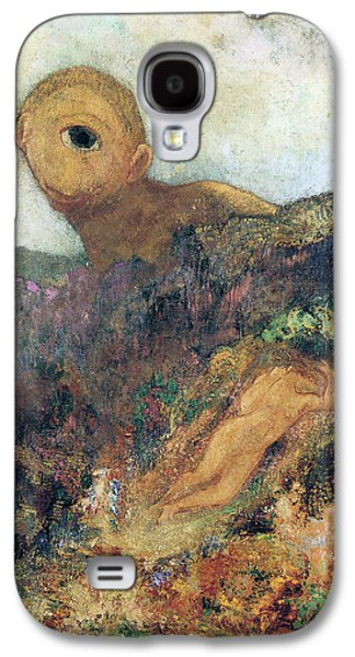 The Cyclops Galaxy S4 Case by Odilon Redon
