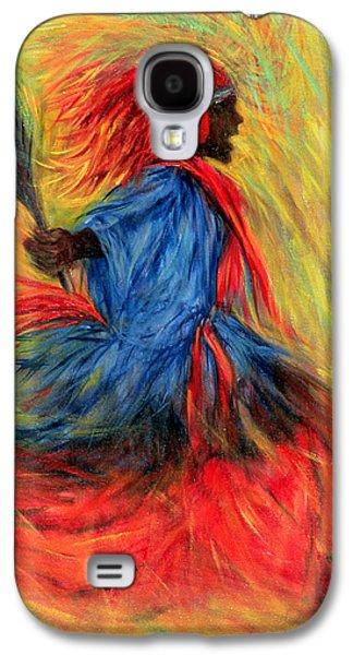 African-american Galaxy S4 Cases - The Dancer Galaxy S4 Case by Tilly Willis