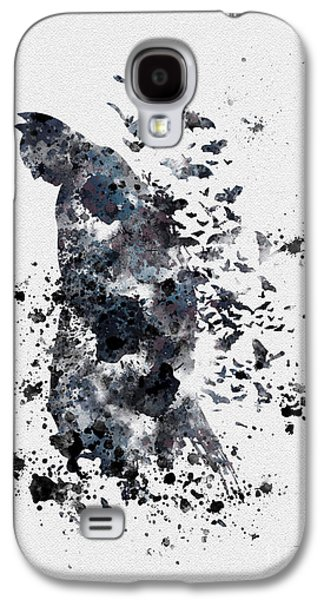 Print Mixed Media Galaxy S4 Cases - The Dark Knight Galaxy S4 Case by Rebecca Jenkins