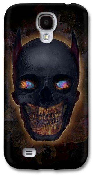 Creepy Galaxy S4 Cases - The Dark Night Galaxy S4 Case by Ian Barefoot