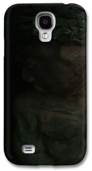 People Sculptures Galaxy S4 Cases - The Dark Statue Galaxy S4 Case by Nissy G