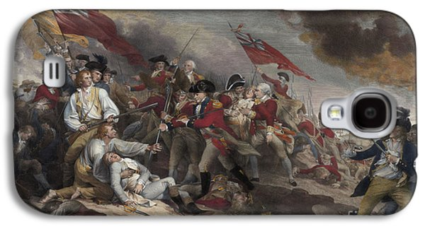 The Death Of General Warren At The Battle Of Bunker Hill, 17th June 1775 Galaxy S4 Case by John Trumbull