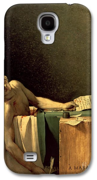 The Death Of Marat Galaxy S4 Case by Jacques Louis David